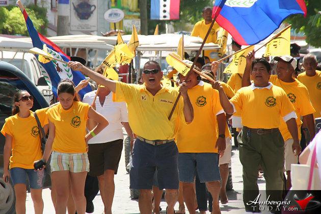"VIP Belize Rural South Standard Bearer -Robert ""Bobby"" Lopez"