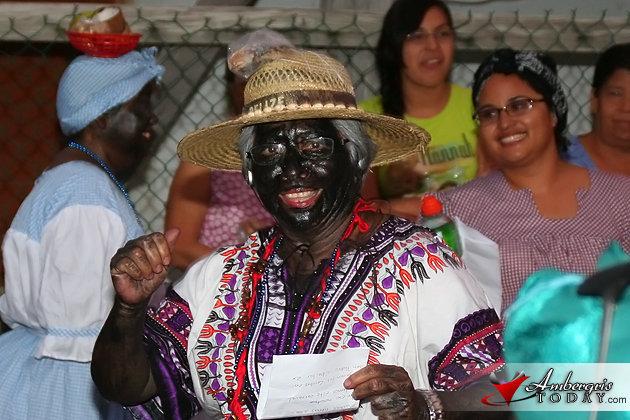 Doña Flora Ancona as a Garifuna