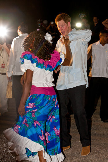 Shy People: Prince Harry Is One With Belize