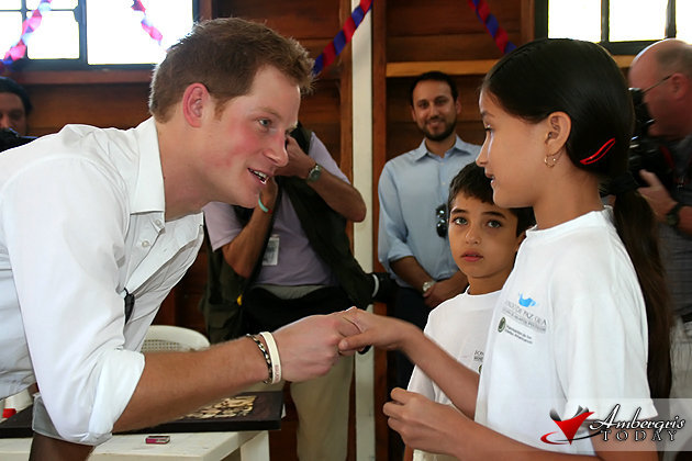 Prince Harry Royal Jubilee Tour Belize