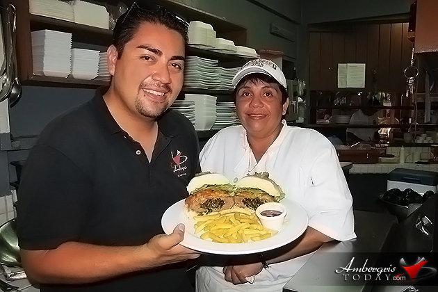 Elvi's Kitchen's New Ambergris Toda Burger