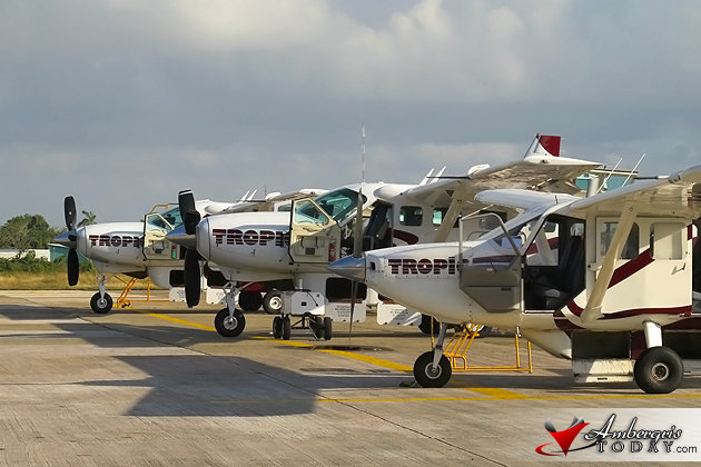 Tropic Air's Direct Flight to San Pedro Sula, Honduras
