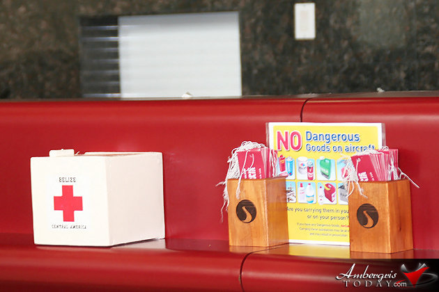 SP Red Cross Branch Distributes Donation Boxes