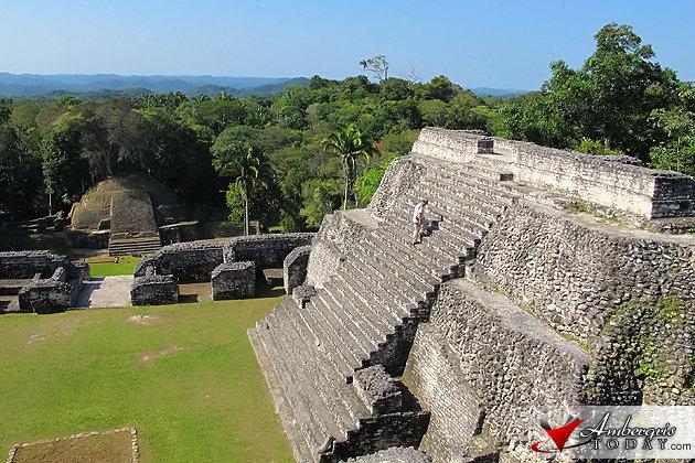 Celebrating Spring Equinox at Caracol Maya Site