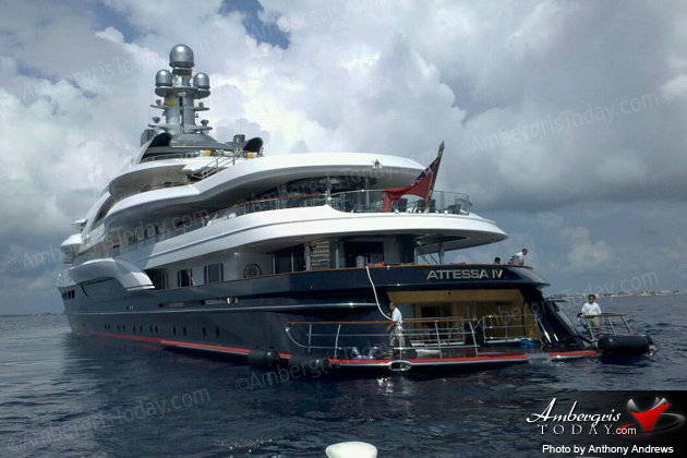 Bill Gates' Super Yacht ATESSA IV