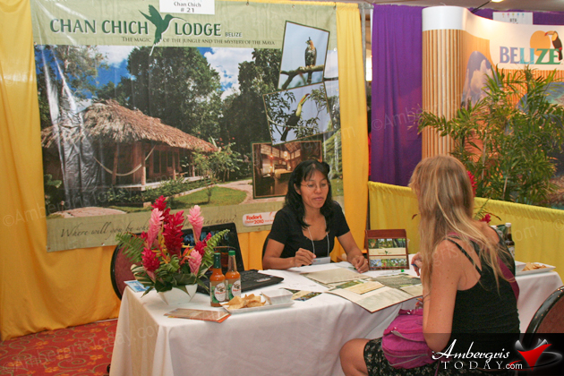 Chan Chich Booth at the Belize Tourism Expo 2012 (BETEX)