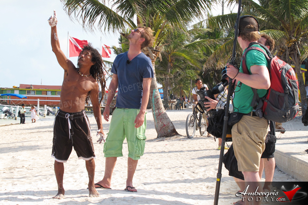 """""""World Games"""" Films The Greasy Pole in San Pedro"""
