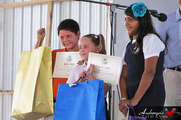 Kindest Kid in San Pedro Awarded