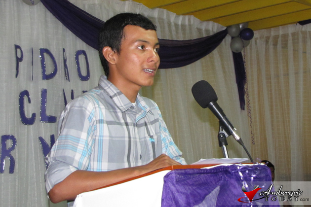Ismael Kay Tops External Exams at San Pedro High
