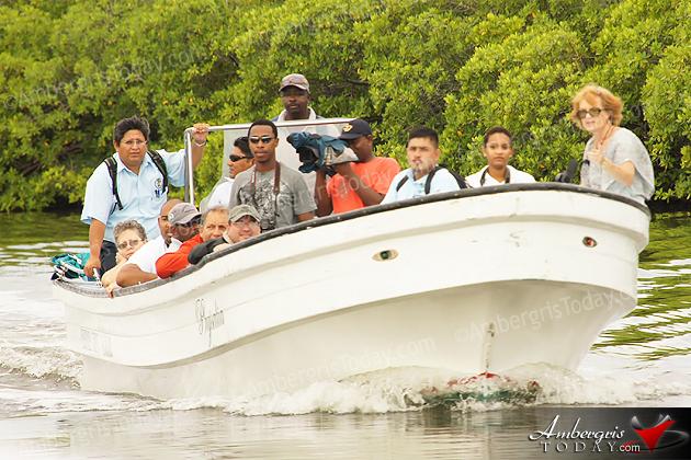 Bacalar Chico National Park & Marine Reserve Fam Trip