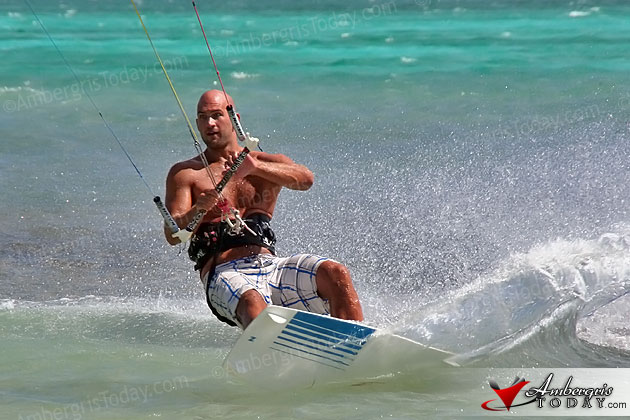 Kite Surfing in Belize