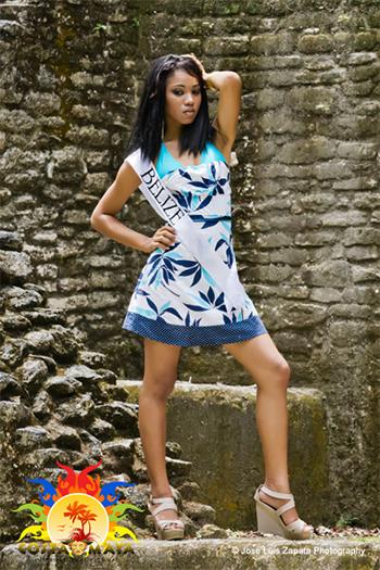 International Costa Maya Festival -Reina De La Costa Maya Miss Belize