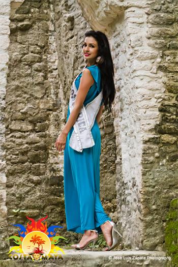 International Costa Maya Festival -Reina De La Costa Maya Miss Costa Rica
