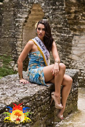 International Costa Maya Festival -Reina De La Costa Maya Miss El Salvador