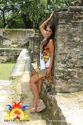 International Costa Maya Festival -Reina De La Costa Maya Miss Mexico