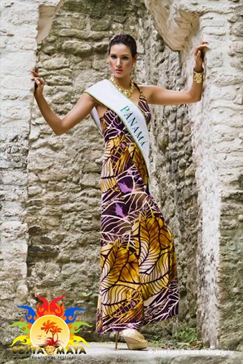 International Costa Maya Festival -Reina De La Costa Maya Miss Panama