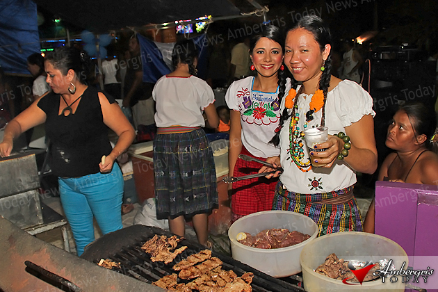 San Pedro Celebrates Central American Night Ambergris