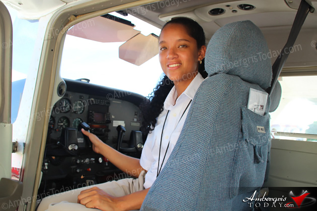 Ronise Caliz Flies the Belizean Skies in a Male Dominated Career