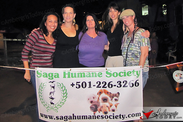 Saga Humane Society volunteers