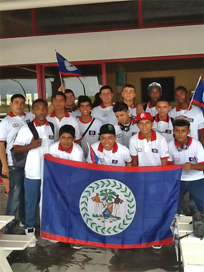 San Pedro High Baseball Team Off to Panama