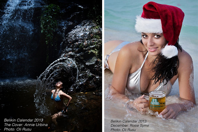 Belikin Launches Water-Themed 2013 Calendar