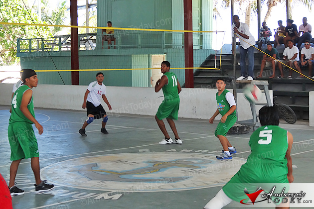 Regional College Volleyball Competition held in San Pedro