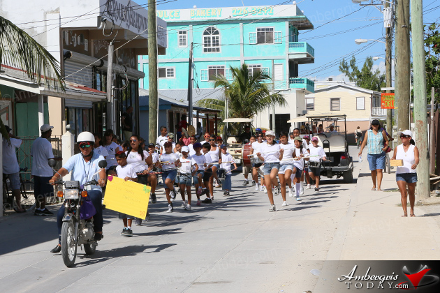 Isla Bonita Elementary School Marching Band Parade-Athon