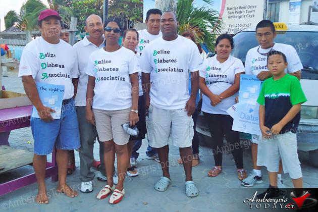First Ever Diabetes Awareness Walk in San Pedro