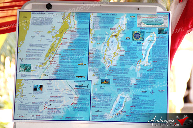 Belize Tourism Board Launches Belize Dive Map