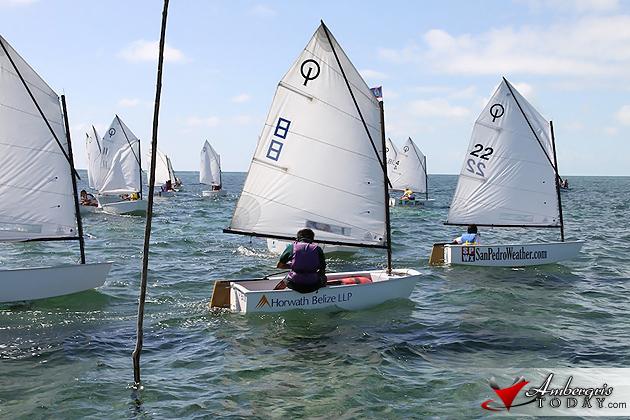 San Pedro Wins National Sailing Club Regatta on Ambergris Caye