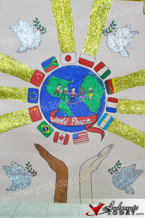 San Pedro Lion's Club Holds International Peace Poster Contest