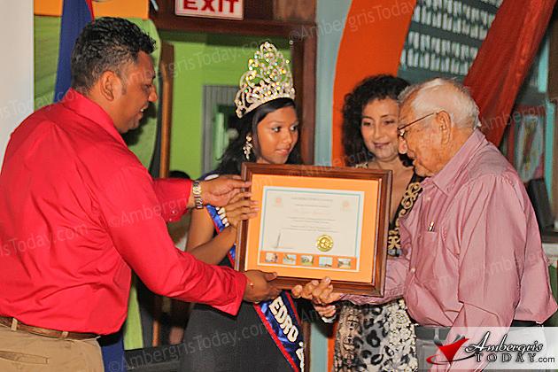 Mayor's Honors at Township Anniversary Banquet