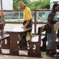 San Pedro Town Council Donates Picnic Tables to Schools