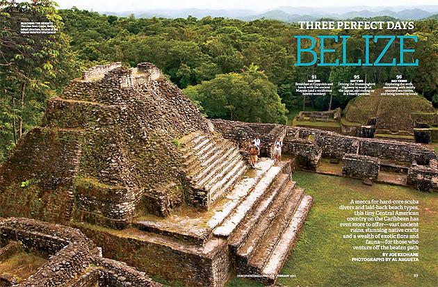 "Hemispheres: ""Three Perfect Days In Belize"""