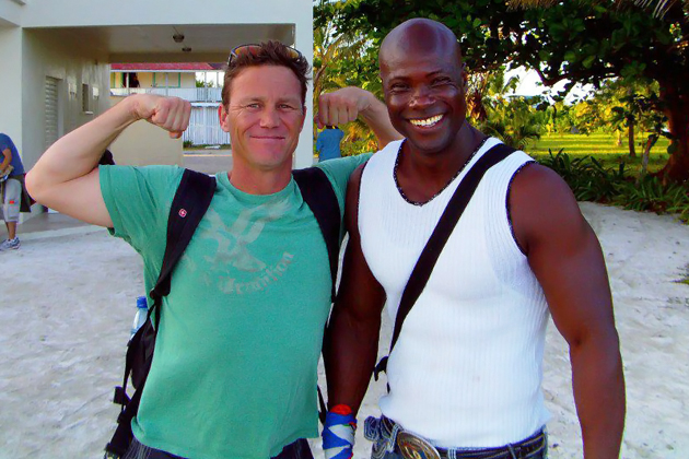 """Charmed"" Actor Brian Krause Filming in Belize"