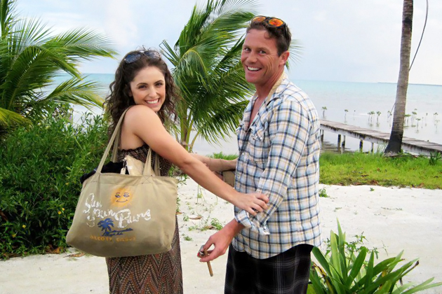Charmed actor brian krause filming in belize ambergris for Charmed tour san francisco