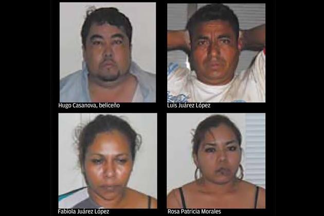 Drug BustMexican Drug Lords and Belizeans Caught in Major Drug Bust