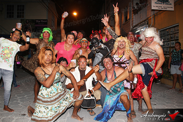 San Pedro Carnaval Day Three Highlighted by John McAfee Parody