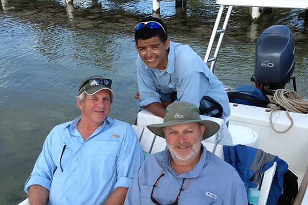 El Pescador Lodge Fishing Guides Certified by Federation of Fly Fishers