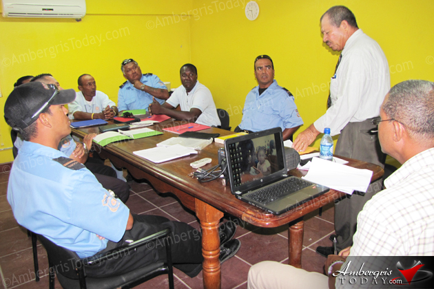 San Pedro Traffic Wardens Attend Public Relations Workshop