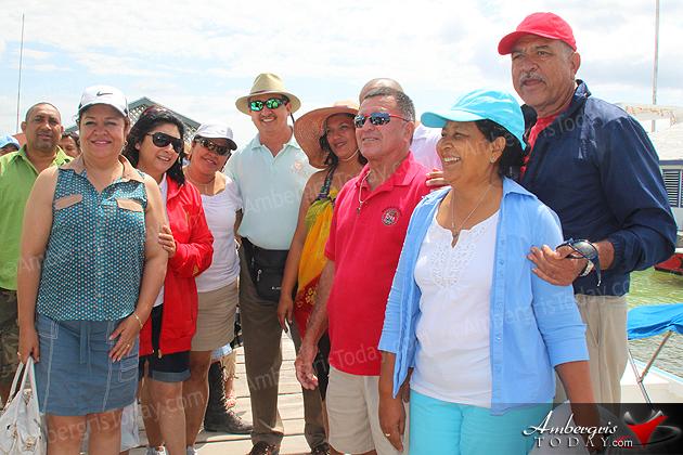San Benito, Guatemala Mayor Visits San Pedro, Belize