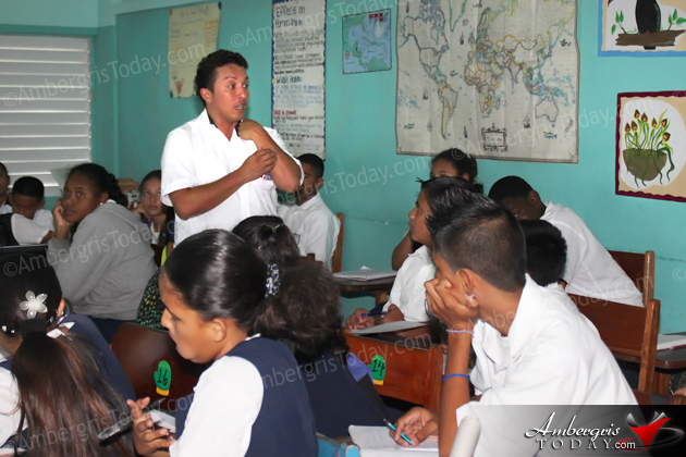 San Pedro AIDS Commission Hosts HIV/AIDS Talk at Local School