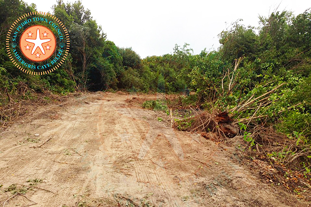 San Pedro Town Council Starts Street Widening Campaign