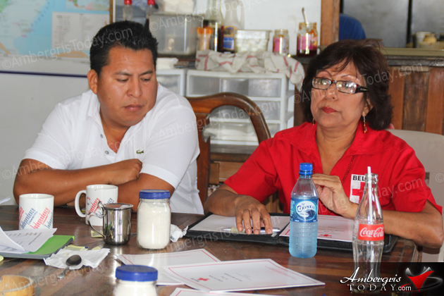 The Belize Red Cross San Pedro Branch Elect Board of Directors