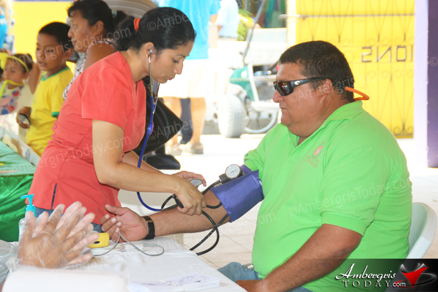 San Pedro Health Fair Held over Weekend
