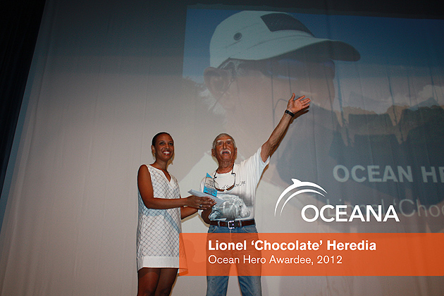 Oceana Pays Tribute to Marine Conservationist Lionel Heredia
