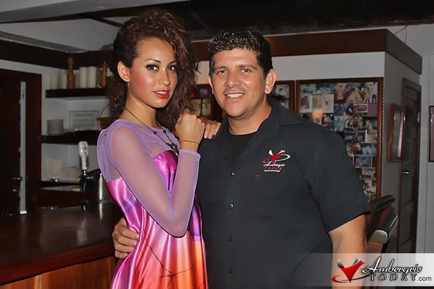 Miss Guatemala Tourismo 2012 Visits San Pedro, Belize