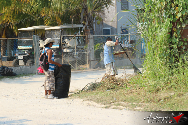 Work Continues in San Pedro Clean Up Campaign