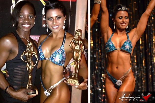 Two Belizean Women Excel in Bodybuilding Abroad