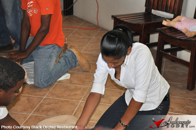 Successful Training Day for the San Pedro Belize Red Cross